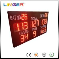 China Reliable Performance Electronic Cricket Scoreboard With Wide Viewing Angle factory