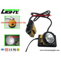 Buy cheap High Power LED Miners Cap Lamp Impact Resistant For Underground Lighting Safety from Wholesalers