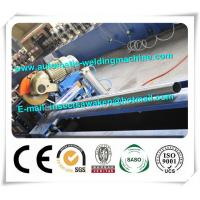 China Manual Uncoiler Steel Silo Forming Machine , Steel Octagonal Tube Roll Forming Line factory