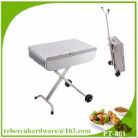 Buy cheap High quality european stainless steel trolley barbecue grill / charcoal grill from Wholesalers