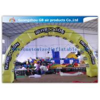 China Pvc Tarpaulin Inflatable Tire Arch Promotion For Tyre Entrance Arch factory