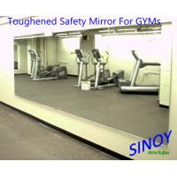 China GYMs Processed Mirror Glass , decorative wall mirrors Water resistance factory