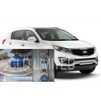 Buy cheap 360 Degree Seamless Car Reverse Camera Kit With IR Function For KIA SporTage R, Bird View Monitoring System from Wholesalers