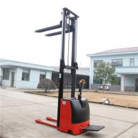 China Automatic Ride On Pallet Stacker AC Motor 1500kg Customised Yellow Color on sale
