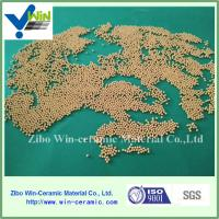 Buy cheap 0.4-3.0mm rolling press medium porcelainous beads for minerals industry from wholesalers