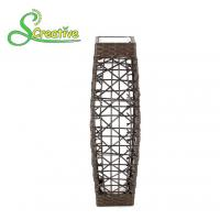 Buy cheap LED Tall Rattan Style Solar Lights Floor Lamp For Garden Patio Landscape Decorative from Wholesalers
