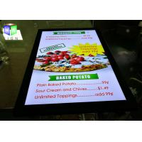 Buy cheap High Brightness Poster Frame Light Box 24 X 36 Picture Panels For Menu Board from Wholesalers