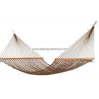 Buy cheap 13 - 15 Foot 2 Person Polyester Rope Hammock All Weather Comfortable 60 Inch from Wholesalers