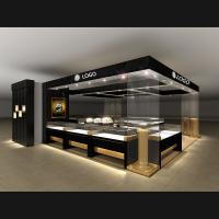 Buy cheap Exquisite Jewelry Store Display Cases , Retail Display Cabinets Customized Size from Wholesalers
