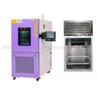 China Programmable Temperature Humidity Test Chamber , Environmental Chamber Humidity Control 0.5℃ Accuracy factory