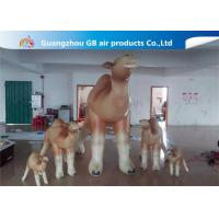 China Customized Cartoon Shape Inflatable Camel Animal Model For Event Party factory