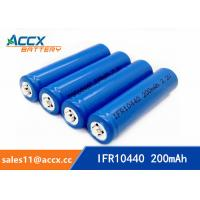 China IFR10440 3.2V AAA size lifepo lithium rechargeable battery factory