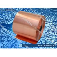China High Temperature Elongation Electrical Rolled Copper Foil With Anti  - Oxidizing Treatment factory