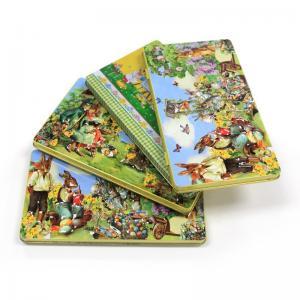 China Wholesale Easter rectangular tin box for chocolates factory