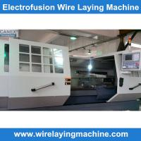 Polyethelyne hdpe pipe fittings  WIRE LAYING MACHINE