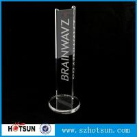 China earphone stand acrylic crystal clear fits virtually all earphones factory