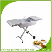 Buy cheap Stainless steel trolley charcoal BBQ grill / barbecue grill / charbroiler from Wholesalers