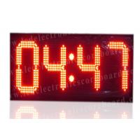 China High Brightness Large Stopwatch Clock With Hanging Brackets CE / ROHS Approved factory