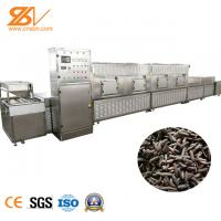 China 304 Stainless Steel Industrial Continuous Microwave Oven For Fly Larvae on sale