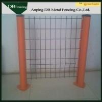 Buy cheap Sunshine Resistance Welded Wire Fence With Square / Peach Post CE Certificated from Wholesalers