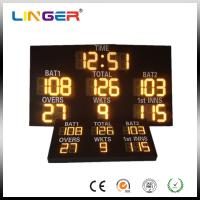 China High Resolution Electronic Cricket Scoreboard Parts Big Led Diodes CE / ROHS factory