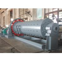 China Ball mill working principle with steel balls inside specification/grinding process on sale