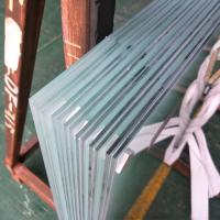 Buy cheap High quality safety building glass Balcony Balustrade Raling Frosted Milk White PVB Film Laminated Glass 10.38mm price from Wholesalers