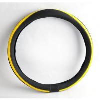 China PU steering wheel cover hand made car cover hot sale good quality factory