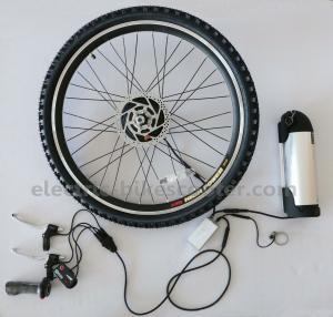 14Kgs Motorized Bicycles Kits Bottle Style 25Km / H 250W Electric Motor