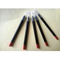 Buy cheap Long Lasting Red Lipstick Pencil PVC High Performance Simple Design ISO from Wholesalers