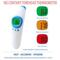 China Infrared Ear No Touch Baby Thermometer , Digital Fever Thermometer Battery Power Supply factory