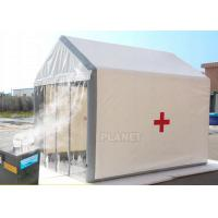 China Portable Emergency Disinfection Tent / Inflatable Military Channel Tent factory