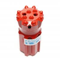 Buy cheap T45-76mm Threaded Button Drill Bits Superior Drilling Performance With 14 Buttons from Wholesalers