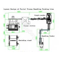 Buy cheap Facial Tissue Paper Production Line , PLC Controlled Paper Production Line from Wholesalers