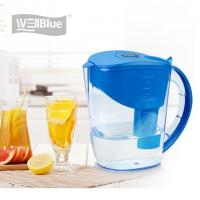 Buy cheap 10 Cup Alkaline Water Filter Jug , BPA Free Plastic Water Purifier Pitcher 3.5L from wholesalers