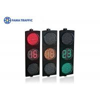 400mm Full Ball LED Traffic Light Countdown Meter Dust Resistant Without Lens