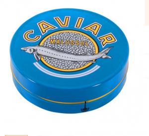 China 30 gm caviar tin box,50 gm caviar tin box,100 gm caviar tin box,125gm caviar tin box,150gm caviar tin box factory