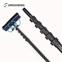 China 25ft 50% Glossy Carbon Fibre Window Cleaning Poles factory