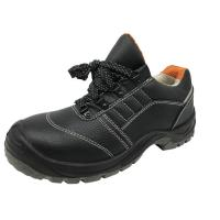 China Heat Resistant Industrial Work Boots Second Layer Leather Slip On Steel Toe Shoes factory