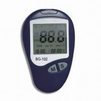 China Large LCD Blood Glucose Monitor, Easy Reading, Quicker Test Result, Less Pain and Accuracy factory