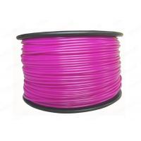 China Plastic PLA 3D Printing Filament 3MM Purple For Printer Makerbot R2 / UP 2 factory