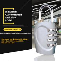 Buy cheap Mini Anti Theft Combination Travel Luggage Lock With Zinc Alloy Lock Body from Wholesalers
