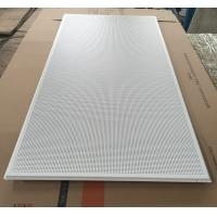 China 595x1195mm Galvanized Steel Acoustic Ceiling Tiles For Shopping Malls on sale