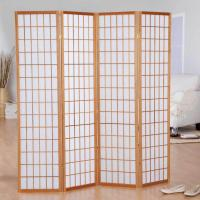 New Style Wooden Foldable Movable Beach Outdoor Room Divider Screens For Rooms