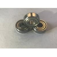 China ABEC-3 Precision Steel Ball Bearings , Grooved Roller Bearing Single Row on sale