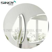 China Edge Polished Simple Frameless Good design Bathroom mirror for Decoration factory