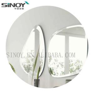 China Simple Frameless Bathroom simple mirror beveled edge factory