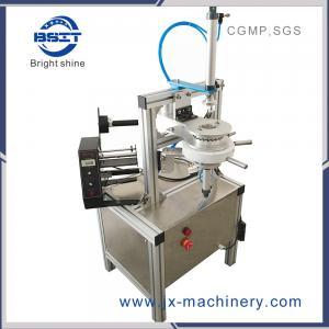 China new  Manual tea cake / Pleat mini small Soap strech film wrapping Machine (Ht-900) factory