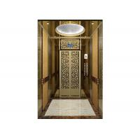 Buy cheap Intelligent Small Commercial Elevators machine room design Equipped with inching levelling device from Wholesalers