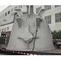 China Large industrial customized cast steel slag pot,made in china factory